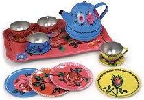 Сервиз за чай - Детски метални играчки -