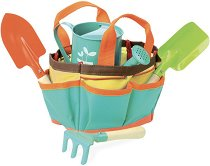 Градински инструменти - Комплект за игра в чанта - играчка