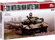 Руски основен танк - Т-72Б1 - Сглобяем модел -