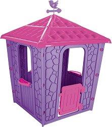 Детска сглобяема къща за игра - Stone House - Размери 114 / 151 / 114 cm - играчка