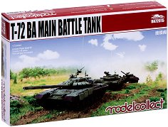 Руски основен танк - Т-72БА - Сглобяем модел - макет