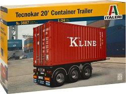 Ремарке с контейнер - Tecnokar 20 -