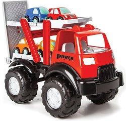 Автовоз с 4 колички - играчка