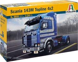 Влекач - Scania 143M Topline 4 x 2 - Сглобяем модел -