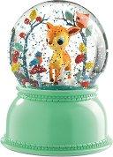 Нощна лампа - Сърничка - Детски аксесоар с таймер за изключване -
