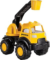 Строителен камион - Детска играчка - играчка