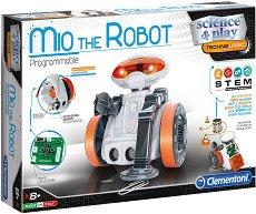 """Робот за програмиране - Мио - Образователен комплект от серията """"Clementoni: Science"""" - играчка"""