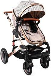 Комбинирана бебешка количка - Gala Premium - С 4 колела -