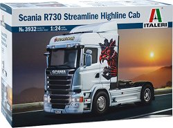 Влекач - Scania R730 Streamline Highline Cab - Сглобяем модел -