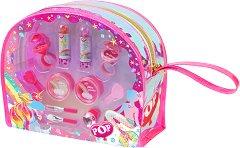 Детски комплект с гримове - POP Glitter Kingdom Beauty -