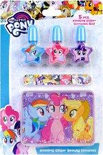 """Markwins International My Little Pony - Детски комплект за маникюр от серията """"Малкото пони"""" - продукт"""