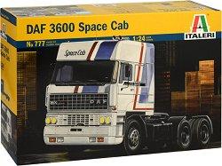Влекач - DAF 3600 Space Cab - Сглобяем модел -