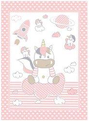 Бебешко одеяло - Unicorn - Размери 80 x 110 cm -
