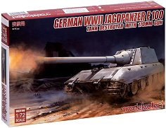 Германски танков разрушител - Jagdpanzer E-100 With 170mm Gun - Сглобяем модел - макет