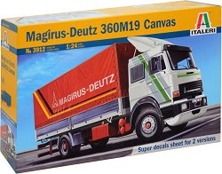 Германски камион - Magirus - Deutz 360M19 Canvas -