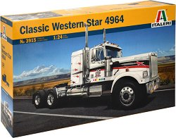 Амеркинаски камион - Classic Western Star 4964 - Сглобяем модел - макет