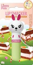 Lip Smacker Lippy Pals - Bunny - Балсам за устни с аромат на морковена торта - балсам
