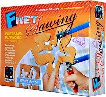 """Направи сам дърворезба - Пеперуда - Творчески комплект от серията """"Fret Sawing"""" - творчески комплект"""