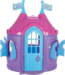 Детска сглобяема къща за игра - Замък на принцеса - Размери 125 / 168 / 129 cm - играчка