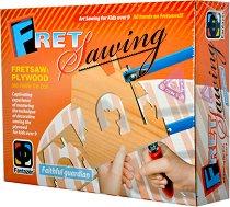 """Дърворезба - Пазител на дома - Творчески комплект от серията """"Fret Sawing"""" - творчески комплект"""
