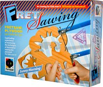 """Направи сам дърворезба - Слънчево утро - Творчески комплект от серията """"Fret Sawing"""" - творчески комплект"""