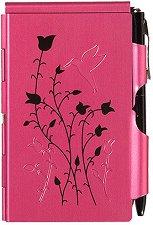 Тефтер с метални корици - Raspberry Hummingbird