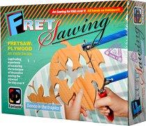 """Направи сам дърворезба - Тропици - Творчески комплект от серията """"Fret Sawing"""" - творчески комплект"""