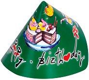 Картонена шапка - Happy Birthday -
