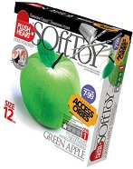 """Направи сам плюшена играчка - Зелена ябълка - Творчески комплект от серията """"Accessories"""" -"""
