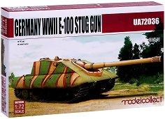 Германски тежък танк - E-100 - Сглобяем модел -