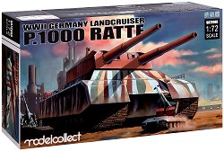 Германски супер тежък танк - Landcruiser P.1000 Ratte -