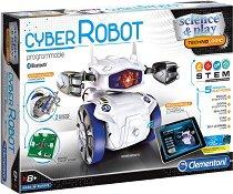 """Робот за програмиране - Кубер - Образователен комплект от серията """"Clementoni: Science"""" -"""