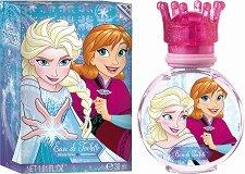"""Детски парфюм - Disney Frozen EDТ - От серията """"Замръзналото кралство"""" - крем"""