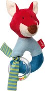 """Лисица - Мека бебешка играчка с дрънкалка от серията """"Red Stars"""" -"""