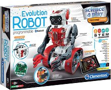 """Робот за програмиране - Еволюшън - Образователен комплект от серията """"Clementoni: Science"""" -"""