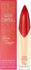 Naomi Campbell Glam Rouge EDT - Дамски парфюм - шампоан