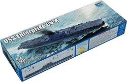 Америкнаски самолетоносач - USS Enterprise CV - 6 - Сглобяем модел -