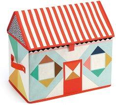 Кутия за съхранение на играчки - Къща -