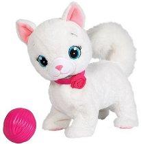 Котето Бианка - Ходеща интерактивна играчка със звуков ефект - кукла