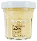 Blancreme Cream Mask with Nourishing Mango - Маска за лице с масло от манго в стъклено бурканче - крем
