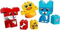 """My First - Домашни животни - Детски конструктор от серията """"LEGO Duplo"""" - играчка"""