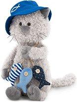 """Котката Бъди - Рибар - Плюшена играчка от серията """"Orange Life"""" - фигури"""
