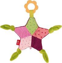 """Звезда - Мека бебешка играчка с дъвкалка от серията """"Play Q"""" -"""