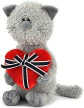 """Котката Бъди със сърце - Плюшена играчка от серията """"Orange Life"""" - фигури"""