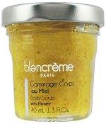 Blancreme Body Scrub with Honey - Сраб за тяло с мед в стъклено бурканче - душ гел
