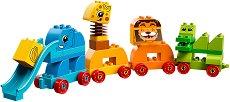 """My First - Животни - Детски конструктор от серията """"LEGO Duplo"""" - играчка"""