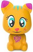 """Котето Тиги - Интерактивна играчка от серията """"Lumiluvs: Светещи животни"""" - творчески комплект"""
