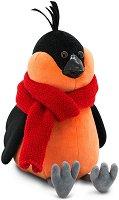 """Птичето Боб с шал - Плюшена играчка от серията """"Orange Life"""" - детски аксесоар"""