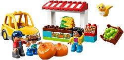 """Пазар - Детски конструктор от серията """"LEGO Duplo"""" -"""