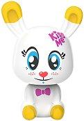 """Зайчето Пърл - Интерактивна играчка от серията """"Lumiluvs: Светещи животни"""" - играчка"""